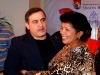 Tarek celebró junto a la  alcaldesa de Barcelona sus 2 años de gestión