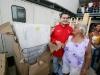 Gobernación asiste a 150 familias afectadas por lluvias en Guanta