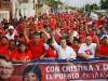 Habitantes de los Boyacá respaldaron a Chávez y a la revolución