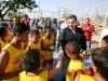 Gobernación invierte 615 mil bolívares fuertes en construcción de cancha deportiva en El Viñedo