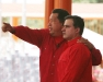 Gobernador Tarek apoya iniciativa de paz del Presidente Chávez