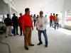Tarek inspeccionó avances del 70% en construcción del Comedor Popular Nemer Saab