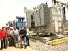 Gobernador inspecciona instalación de transformador en Lechería