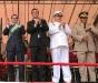 Desfile cívico militar como acto central del año Bicentenario de la Independencia
