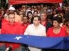 Mujeres de Anzoátegui cosieron bandera que cubrirá los restos del libertador