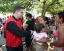 Gobernador entregó ayuda a familias afectadas por lluvias del Casco Central de Puerto La Cruz