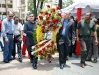 Tarek rindió honores al Padre de la Patria en Plaza Bolívar de Barcelona