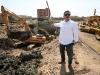 Tarek inspecciona construcción de estación de bombeo en Nueva Barcelona