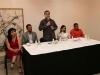 """Tarek inauguró exposición """"Gaza bajo Fuego"""""""