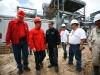 Vicepresidente, Ministro y Gobernador inspeccionaron Planta Termoeléctrica Alberto Lovera de Puerto La Cruz
