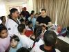 Tarek entregó implementos deportivos a niños de escuelas estadales de Lechería