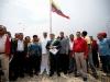 "Tarek reinauguró monumento a la bandera como ""Plaza Bicentenaria de Anzoátegui"""