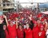 Histórica marcha en defensa del presidente Chávez en El Tigre