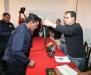 Gobernador condecoró y ascendió a policías
