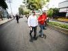 Tarek adelanta asfaltado de la Av. 5 de Julio de Barcelona