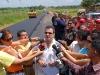 Gobierno revolucionario invierte 1 millón de Bs. F. en vía Soledad