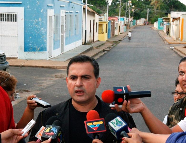 Gobernación ha colocado 5 mil 260 toneladas de asfalto en la ciudad de El Tigre
