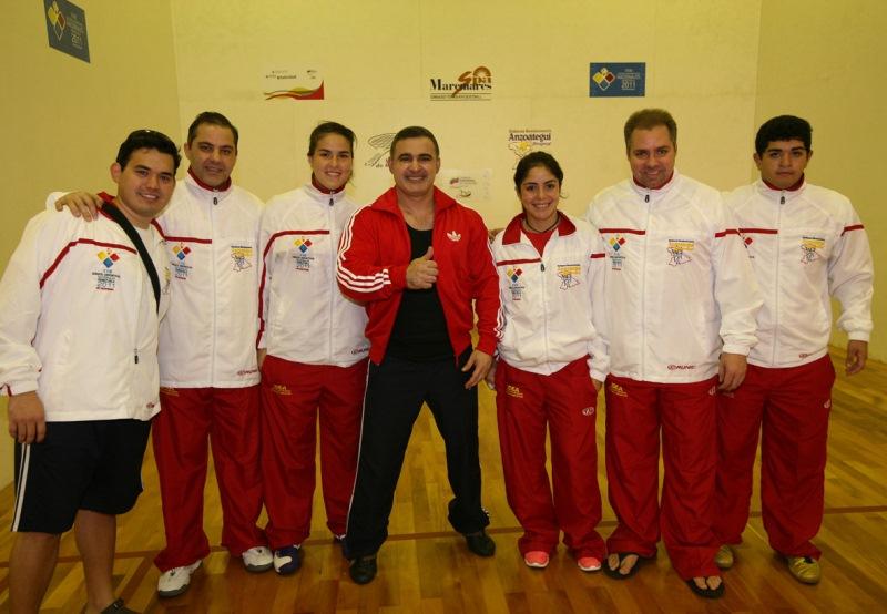 Tarek premió a atletas anzoatiguenses ganadores en Racquetball