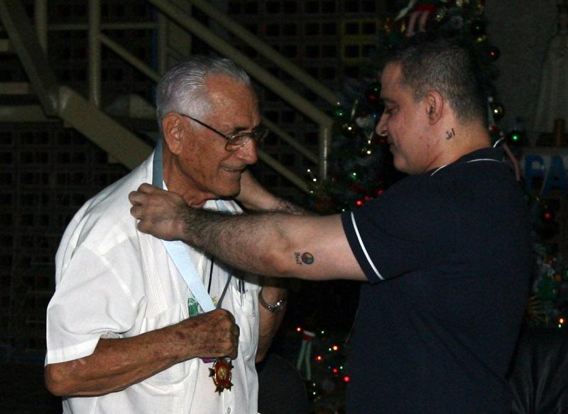 Tarek reconoció valiosa labor del Padre Rino Bergamin Basso en Anzoátegui