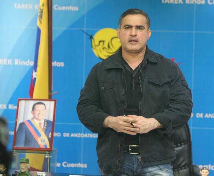 Tarek entregó ayudas humanitarias por más de BsF 46 mil