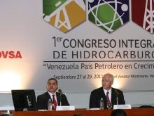 Ministro Ramírez y Gobernador Tarek asisten al I Congreso Integral de Hidrocarburos en Anzoátegui