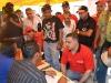 Tarek visitó punto rojo en El Tigre