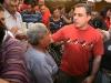 Tarek y Consejos Comunales aprobaron mejoras de cancha deportiva en U.E. José Antonio Anzoátegui