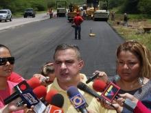 Gobernación finalizó pavimentación de ramal R-30 en Pardillal