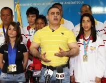 Tarek destaca 2do lugar histórico de Anzoátegui en Juegos Deportivos Nacionales 2011