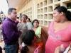 Gobernador Tarek visitó a damnificados