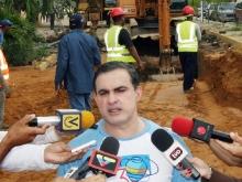 Gobernación adelanta construcción de colectores y estación de bombeo en Los Boqueticos