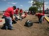 Gobernación ejecutó jornada de trabajo voluntario en Barrio Colombia