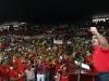 Más de 10 mil personas acompañaron a Tarek en apoyo de Chávez