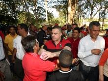 """Gobernador Tarek rindió homenaje a mártires de """"Masacre de Cantaura"""""""