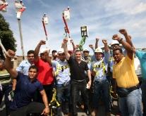 Gobernador Tarek conjuntamente con Corpoelec entregaron equipos para resolver crisis eléctrica