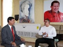 Gobernador Tarek recibió visita del embajador de Malasia