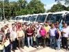 Tarek realizó entrega de 26 autobuses para fortalecimiento de flota de transporte público