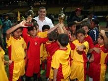 Tarek incentiva semillero del Deportivo Anzoátegui