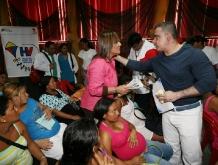 Ministra Nancy Pérez y Tarek arrancaron Misión Hijos de Venezuela en Anzoátegui