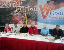 Órgano Superior Nacional de Vivienda sesionó en Anzoátegui