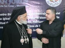 Gobernador Tarek recibe a Patriarca Católico