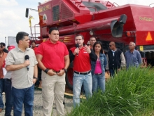 Gestión de Tarek ha reactivado más de 3 mil hectáreas productivas al agro de Anzoátegui