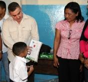 Gobernador Tarek inicia año escolar 2011-2012 en Anzoátegui