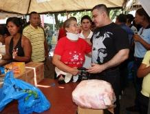 Tarek y Mercal benefician 15 mil anzoatiguenses en 1era Feria Navideña Bicentenaria 2011