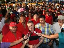 Tarek participó en asamblea de patrulleros del PSUV en Barcelona
