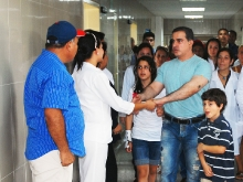 Gobernación continúa rehabilitación en el Hospital Dr. Antonio Rondón Angulo
