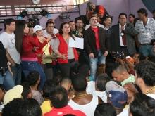 Tarek acompañó a ministra Iris Varela en asamblea y recorrido en Puente Ayala