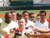 Tarek reitera todo su apoyo a la Vinotinto del Béisbol
