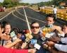 Gobernación adelanta trabajos de sustitución de alcantarillas en carretera nacional a Oriente