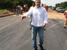 Gobernación afianza optimización de carreteras y sustituye alcantarillas en Zona Oeste